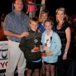 Junior winners - Jaco vd Merwe, Sonja Crossberg, Sonette Coetzee, Chloe Nathan and Arno Roets.