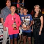 Senior winners - Mr Jaco vd Merwe, Sherise Pieterse, Mrs Sonja Crossberg, Boeta Naude en Sonette Coetzee
