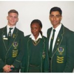 Grade 12: Stephen Stander, Sakhile Sibanda, Kuldeep Jadeja(Top Achiever)