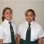 Grade 8: Claudia Cilliers, Megan Fortuin(Top Achiever)