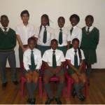 Grade10: Front: Unarine Ralioma, Matumba Matumba, Latani Nthambeni Rear; Kagiso Phologa, Rishan Mazid, Akani Masinge, Sarinah Mosela, Vutomi Rivele, Claudette Mutema