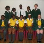 Grade 12: Front: Nicholas Munako, Fiona Ntebeni, Athalia Mbekwa, Edith Makhado, Madelé Thiart Rear: Vanessa Mabasa, Annah Mufamadi, Brendon Mutema, Sheron Ndou, Kevin van Vuuren