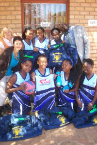 Left to right – back:  Mrs M Theron, Karabo Nthekiso, Esnath Mokwena, Brilliant Ramashidzha & Mr J Garandia, Left to right – front: Mrs M Vorster, Rovho Malindi, Esther Mukwevho, Daisy Sematla & Lufuno Mavhona