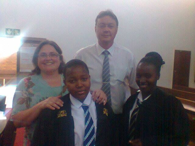 With Ninette and Charlie du Plessis, Musina's Prosecutor